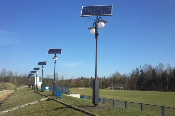 Lampy Solarne i hybrydowe