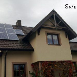 Realizacja Stadniki 4,5 kWp